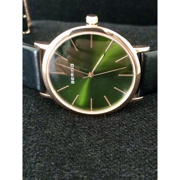 Bering Armbanduhr British Green