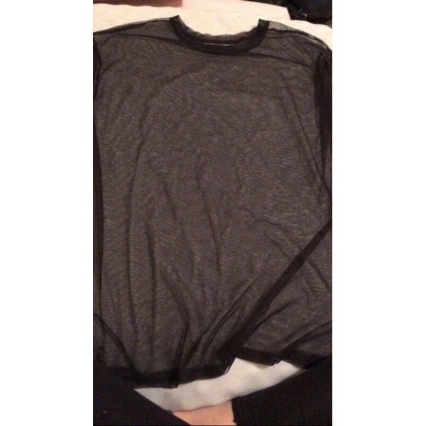 Bershka Netz T-Shirt