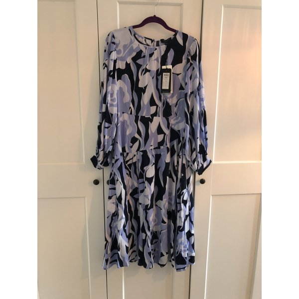 Selected Femme Robe mi-longue multicolore viscose
