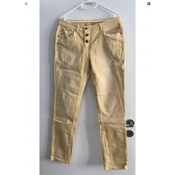 Best Connections Trousers gold orange