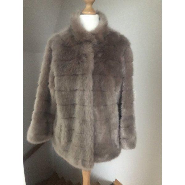 Betta Corradi Fake Fur Jacke Gr. S