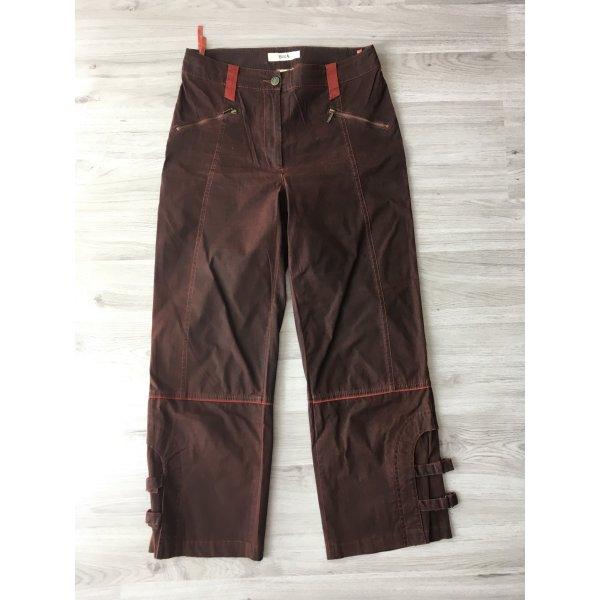Biba Pantalone a 3/4 multicolore Cotone