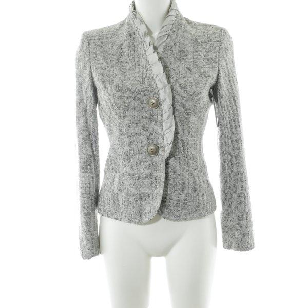 Biba Short Jacket light grey-grey flecked elegant