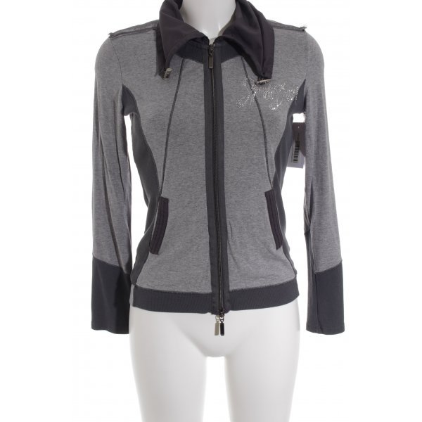 Biba Sweat Jacket grey-dark grey casual look