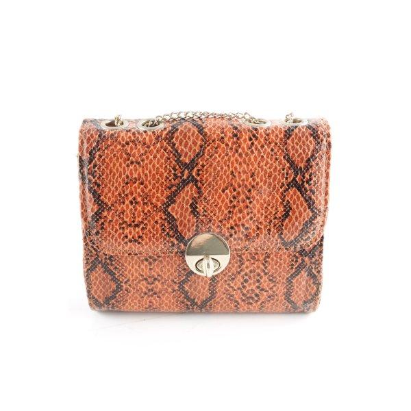 Bijou Brigitte Mini Bag animal pattern reptile print