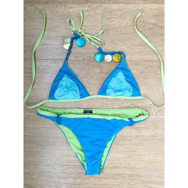 Bikini grün blau Calzedonia