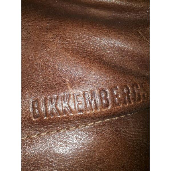 Bikkembergs vintage 254 Lammfell in tollem braun.
