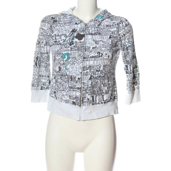 Billabong Kapuzensweatshirt abstraktes Muster Casual-Look