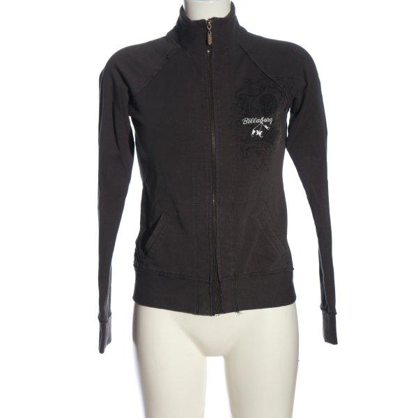 Billabong Sweatshirt schwarz Mustermix Casual-Look