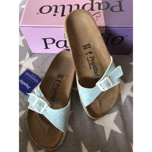 Birkenstock Sandals light blue-azure
