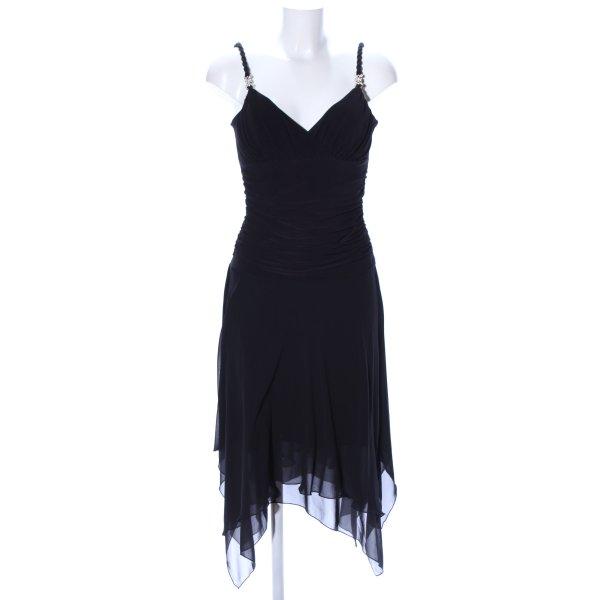 Bisou Bisou Trägerkleid schwarz Elegant