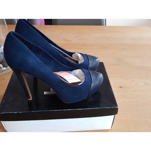Stradivarius Tacco alto blu scuro