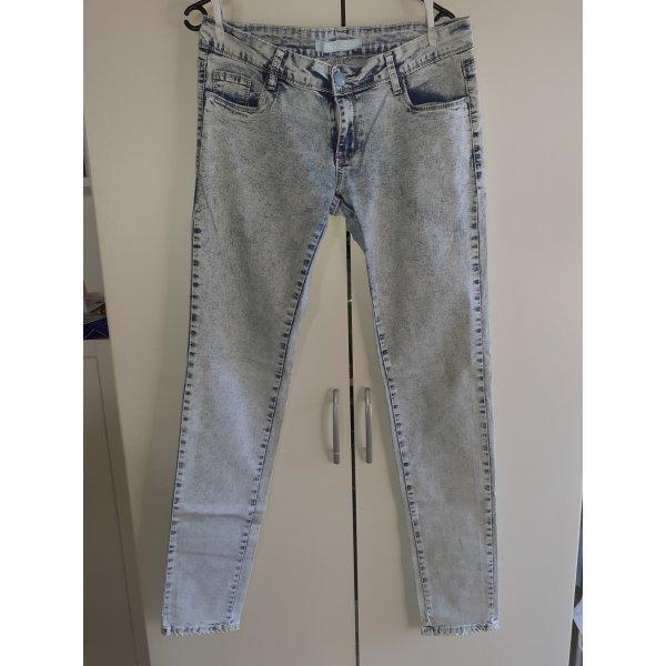 Blaue Strech-Skinny-Jeans Gr.42-44