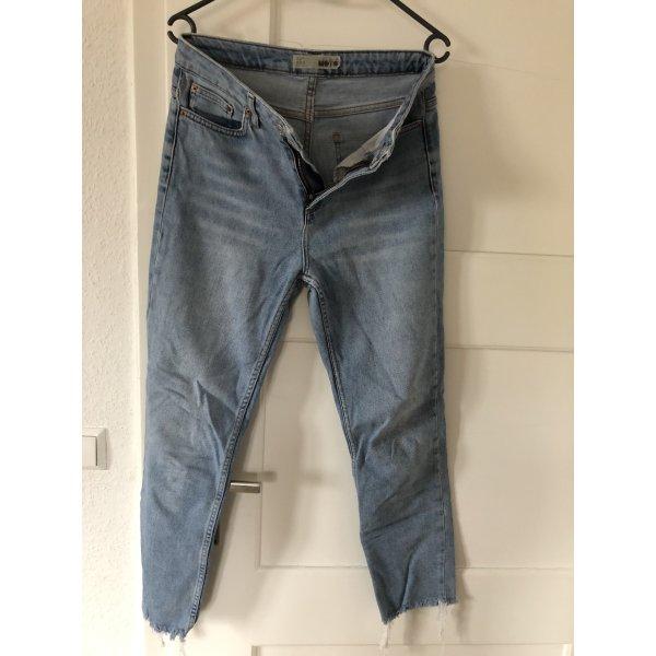 Blaue Topshop Jeans