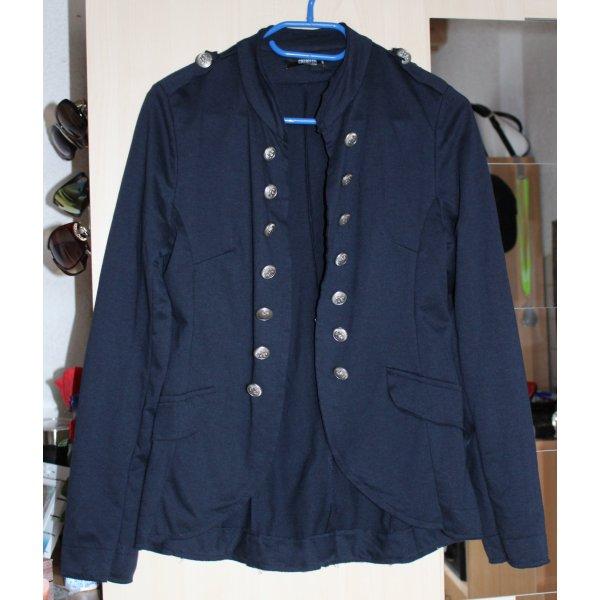 """Blauer Blazer im """"Uniform Look"""" von Colloseum, Gr.M"""