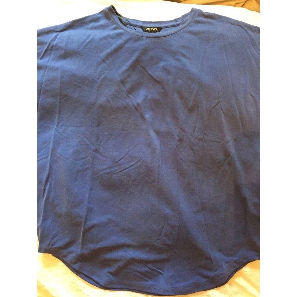 Blaues T-Shirt von MONKI - Größe XS - NEU!