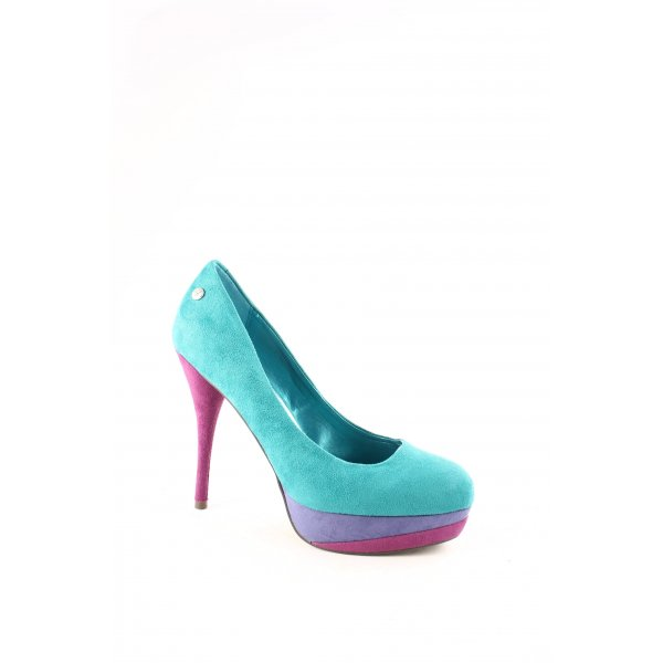 Blink Plateau-Pumps Colourblocking Elegant