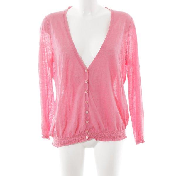 Bloom Strickjacke pink Casual-Look
