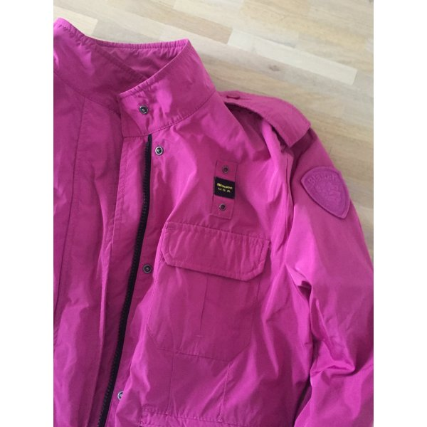 Blauer Chaqueta rosa