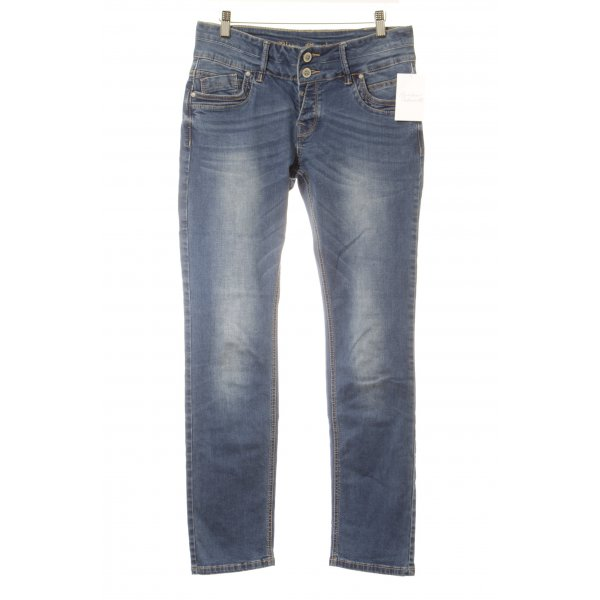 Blue Monkey Röhrenjeans blau Casual-Look
