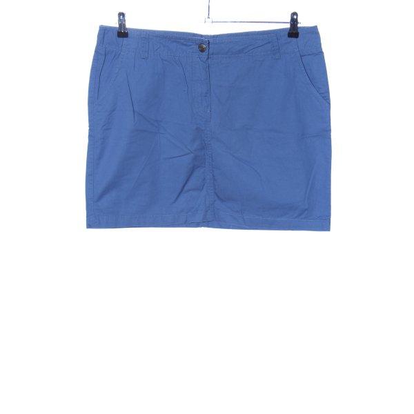 Blue Motion Minirock blau Casual-Look