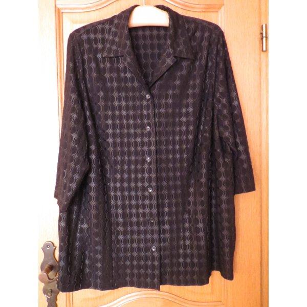 Bluse, Gr.50/XL, schwarz