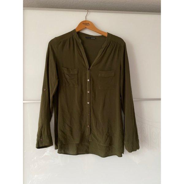 Bluse grün M 38 khaki Summer nakd
