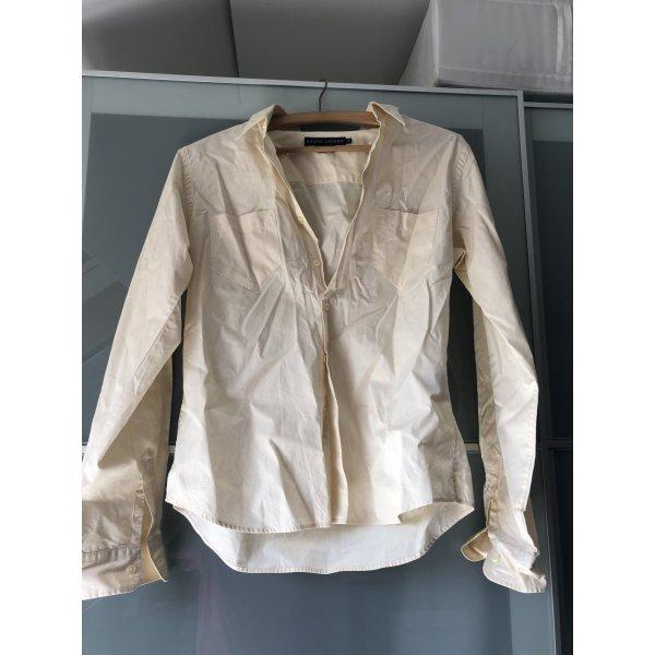 Bluse in beige von Ralph Lauren