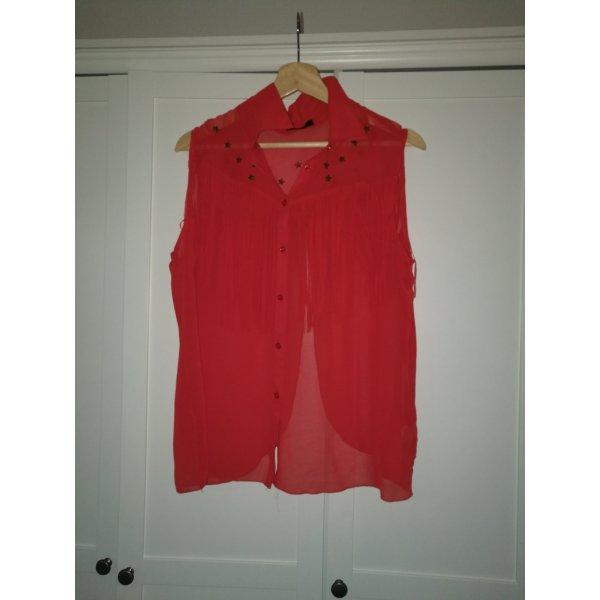 Bluse tshirt ROT Gr.42