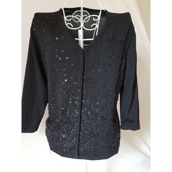 Apanage Transparante blouse zwart