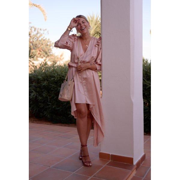 Blusenkleid pink Elegant