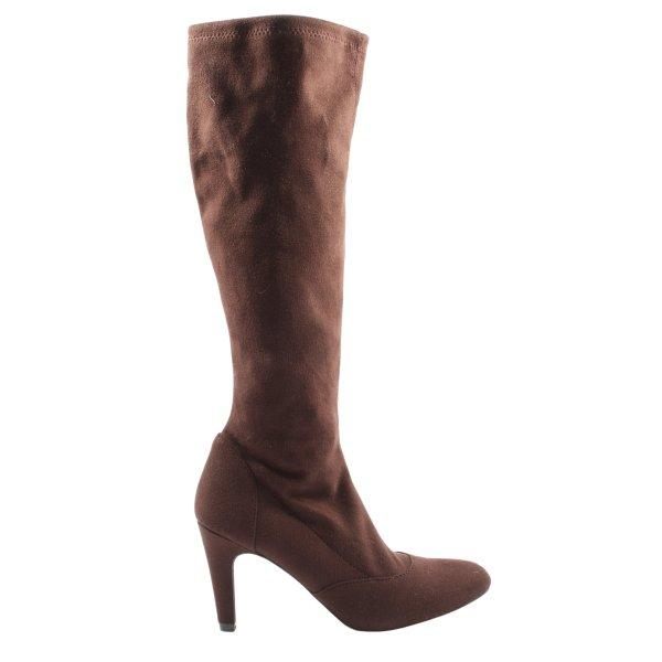 Boden High Heel Stiefel braun Casual-Look