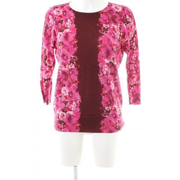 Boden Wollpullover Allover-Druck Casual-Look