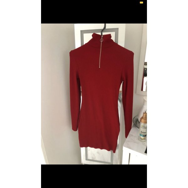 Bodycon Dress Kleid Rot Topshop