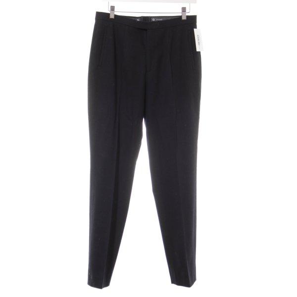 Bogner Stoffhose schwarz minimalistischer Stil