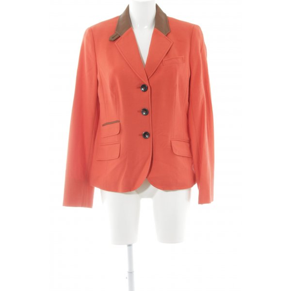 Bogner Woll-Blazer rot Business-Look