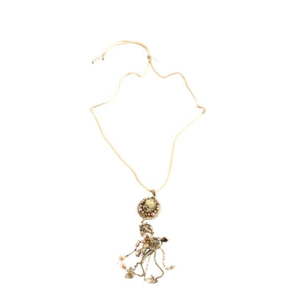 bohm Collier goldfarben Elegant