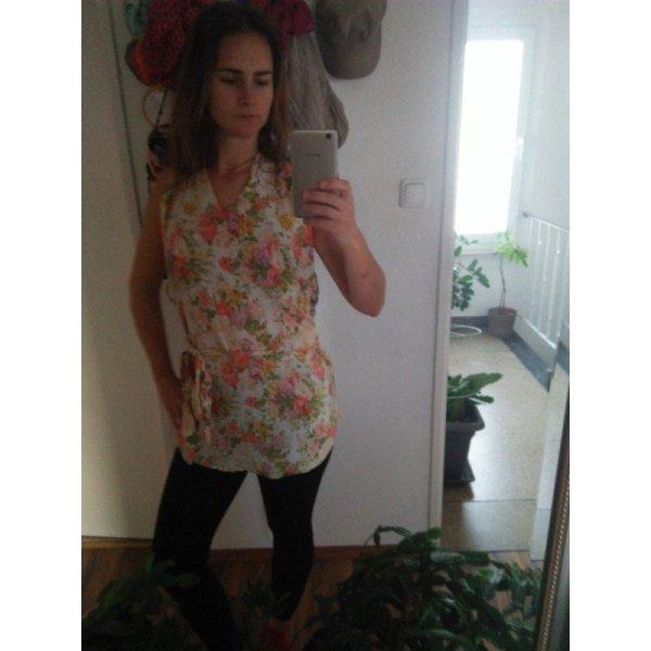 Boho Hippie Topshop Tunikatop Süss 36 Hippie Flower Power Romantik Floral Shabby Schick
