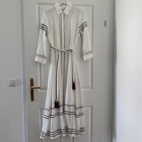 Boho Kleid mit Gürtel