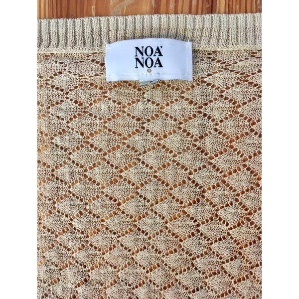 Noa Noa Bolero lavorato a maglia crema
