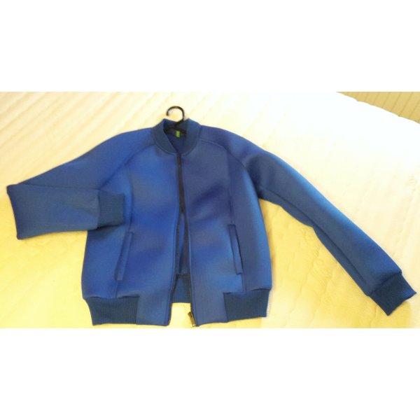 United Colors of Benetton Blouson aviateur bleu