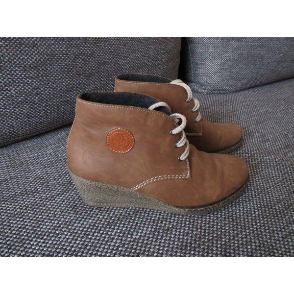 Boots, Gr.37, braun