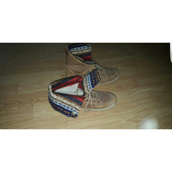 Boots in braun