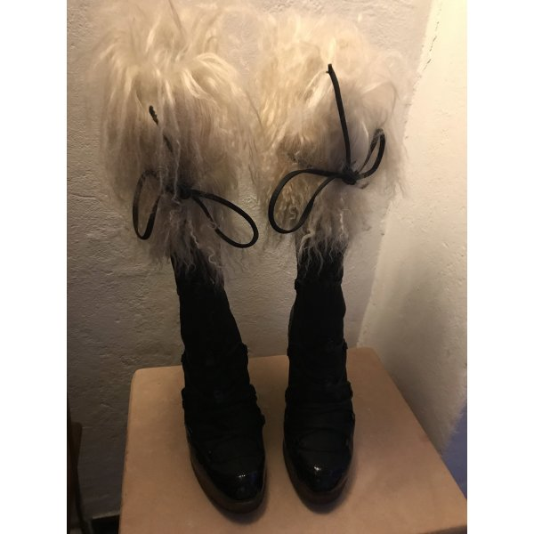 Boots vincini Lammfell