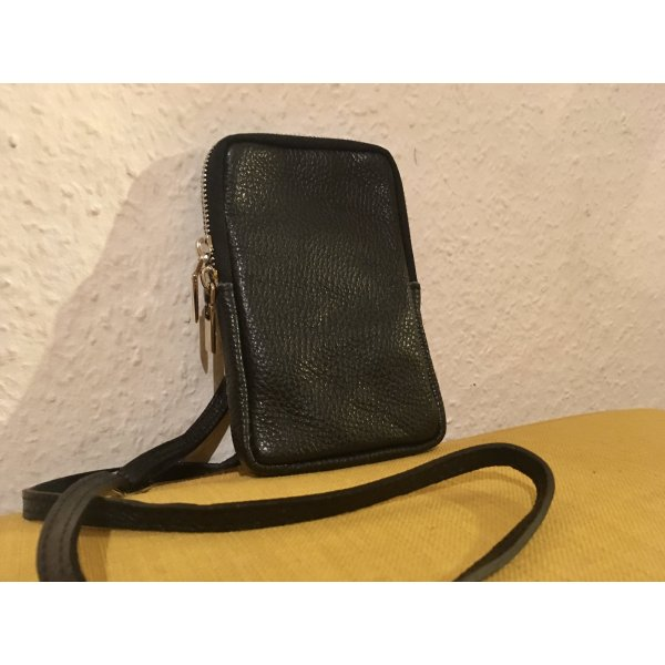 Borse in Pelle Tasche, Made in Italy, 100% Leder, 17 x 10 cm
