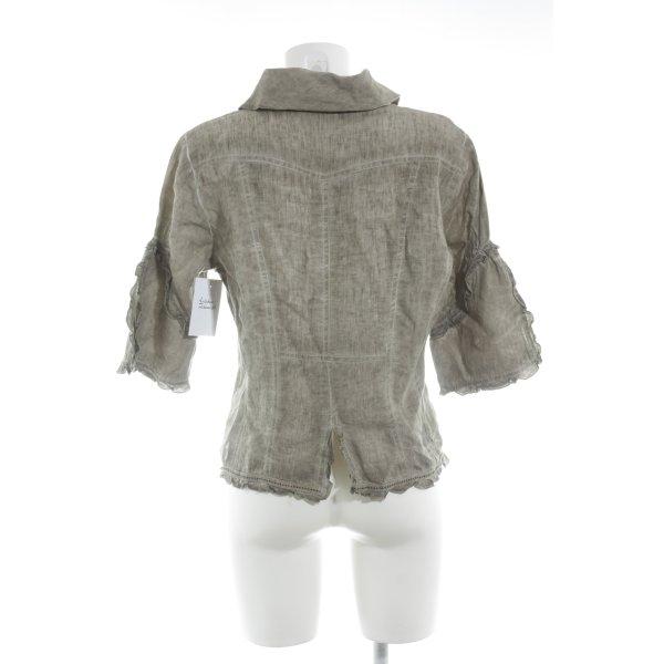 Bottega Shirt Jacket oatmeal casual look