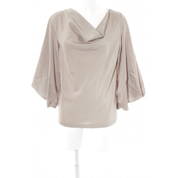 Bottega Veneta Langarm-Bluse graubraun Elegant