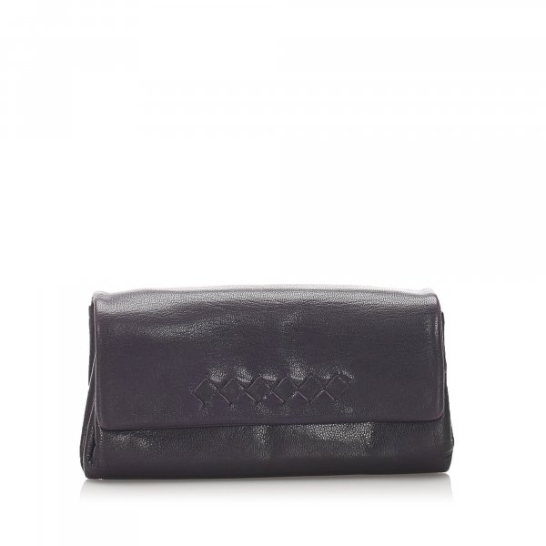 Bottega Veneta Leather Clutch Bag