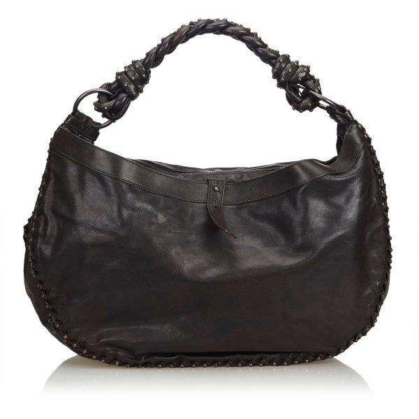 Bottega Veneta Leather Hobo