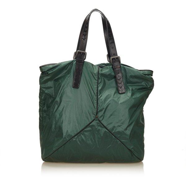 Bottega Veneta Nylon Shoulder Bag